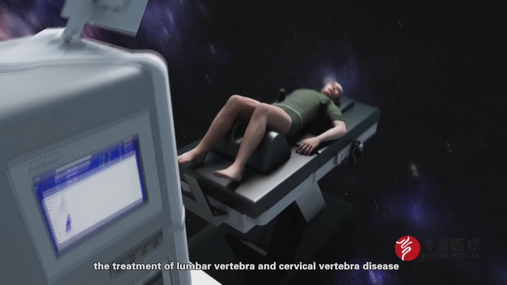 Di alta qualità di trazione lombare attrezzature per curare il mal di schiena