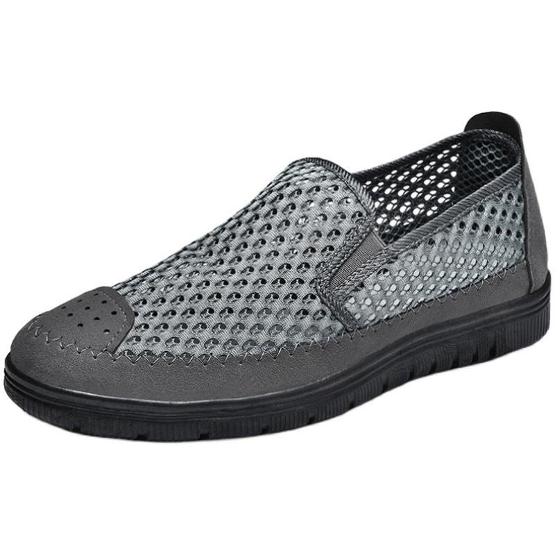 春季网面鞋懒人透气网鞋一脚蹬男鞋好用吗