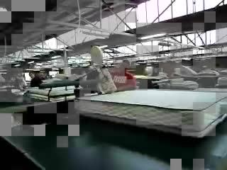 300U colchão da cama mesa equipamento da máquina de costura, máquina de costura preço