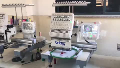ホット販売BR-1501シングルヘッドコンピュータ化バルダン刺繍機価格でインド刺繍機