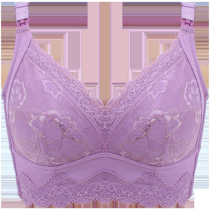 孕妇哺乳内衣女怀孕期胸罩产后春夏聚拢防下垂喂奶棉大码睡觉可穿