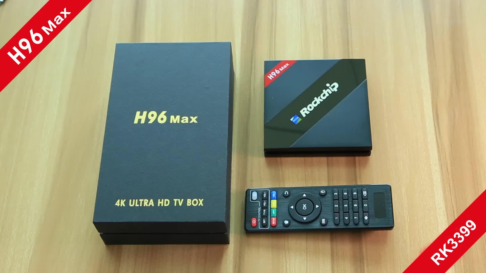 2017 best H96 Max rk3399 4gb ram 32gb rom codi android 4k hd smart tv box