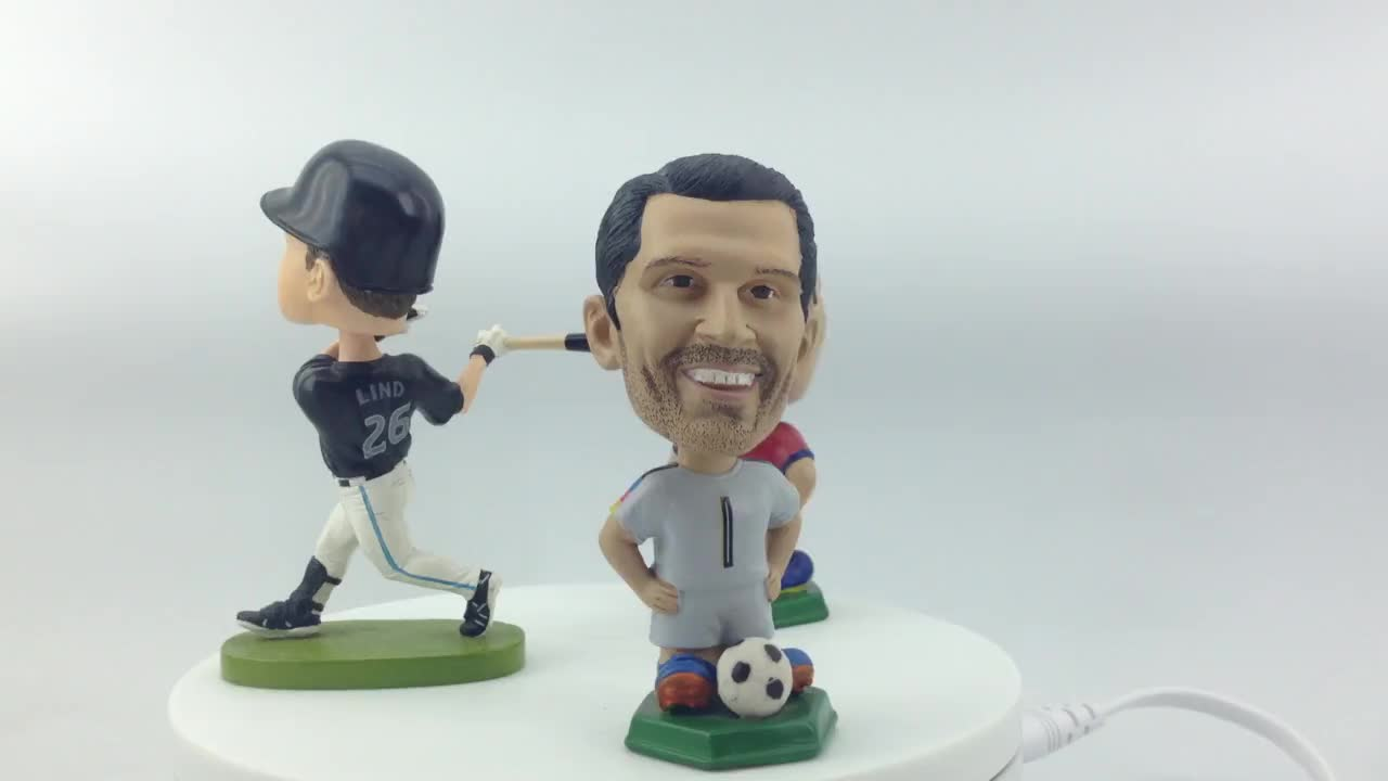 Custom Character Design 3D Bobble Head Figurine