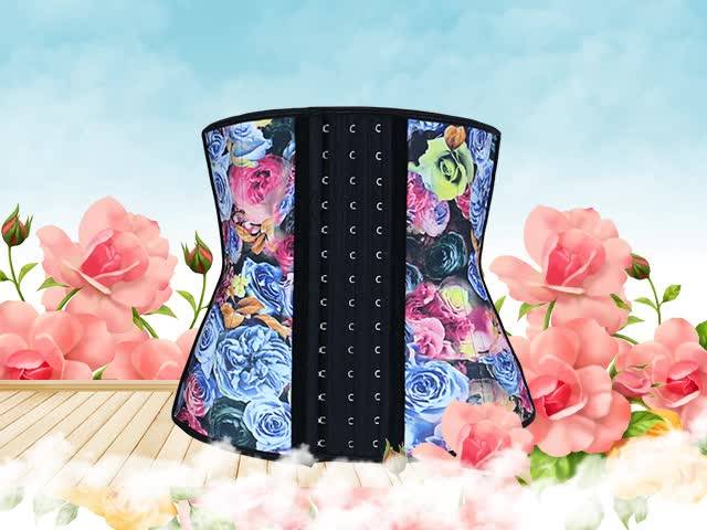 286f32b4deb High Quality Plus Size Women Sexy Rubber Latex Waist Trainer Oem Fitness  Corset For Weight Loss