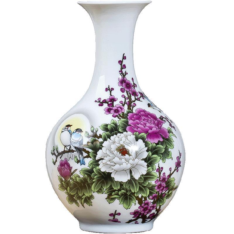 景德镇陶瓷摆件客厅现代简约小花瓶评价如何