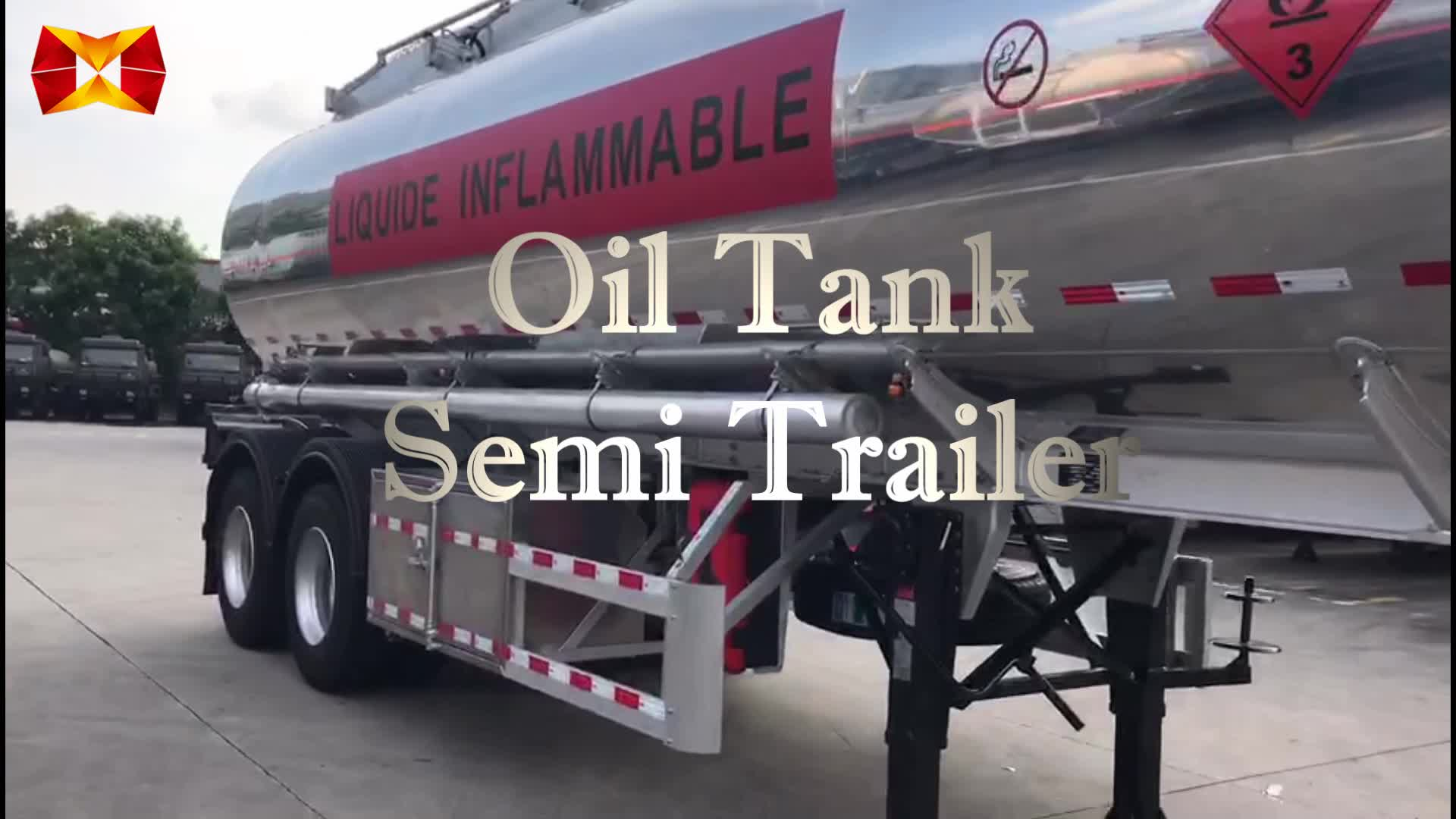 China hot sale tri axle cold liquid tanker trailer for liquefied natural gas