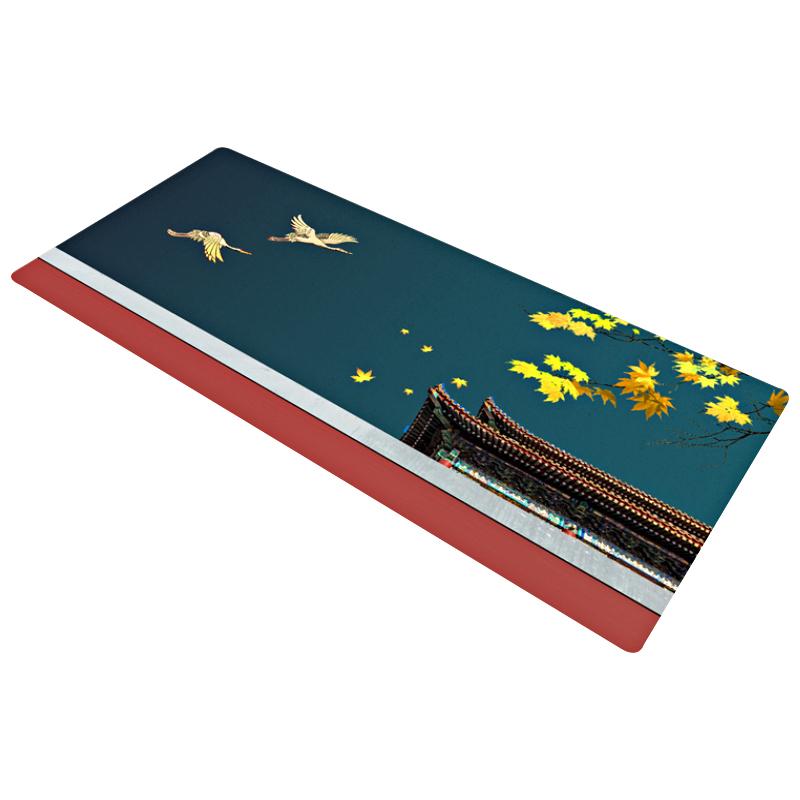 鼠标垫超大中国风防水个性办公桌垫