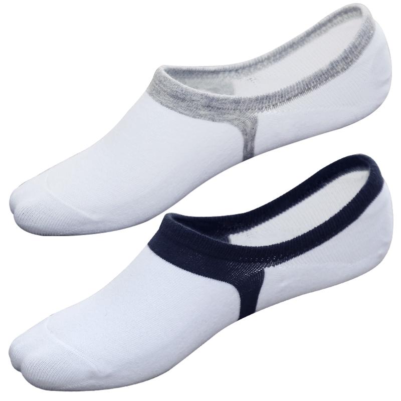 袜子男士短袜潮夏季全棉船袜套隐形纯棉线ins夏天祙脚底防臭浅口