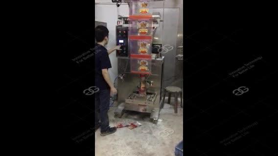 Bustina Corsia Curry Semolato Zucchero Bastone Ad alta Efficienza Automatica di Imballaggio In Polvere Spezie In Polvere Macchina di Confezionamento del Caffè