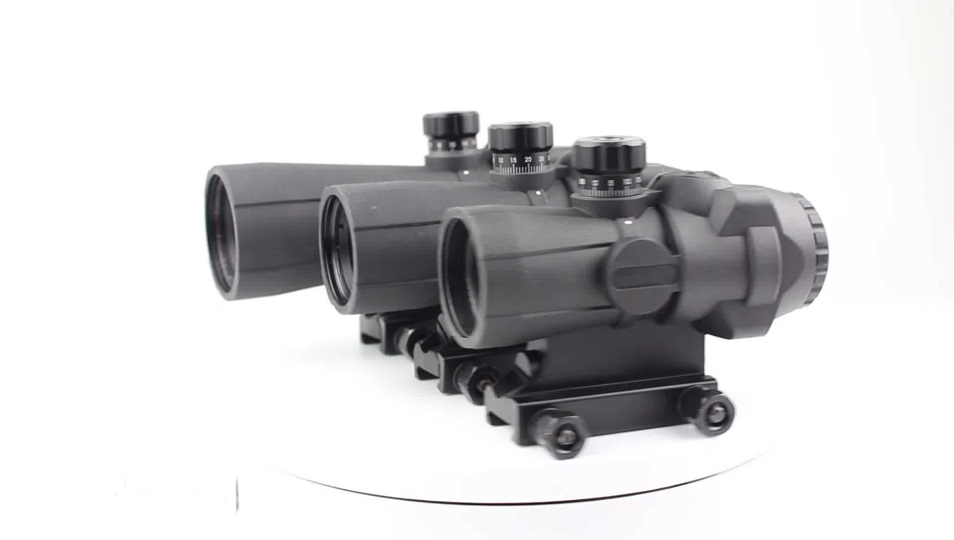 141-3x30 सैन्य Picatinny 20mm माउंट मिल-डॉट ऑप्टिक पीसीपी के लिए राइफल गुंजाइश
