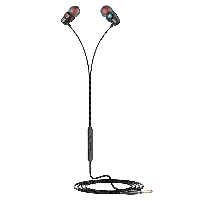 耳机入耳式有线k歌重低音炮9D高音质苹果安卓手机通用头戴式耳塞