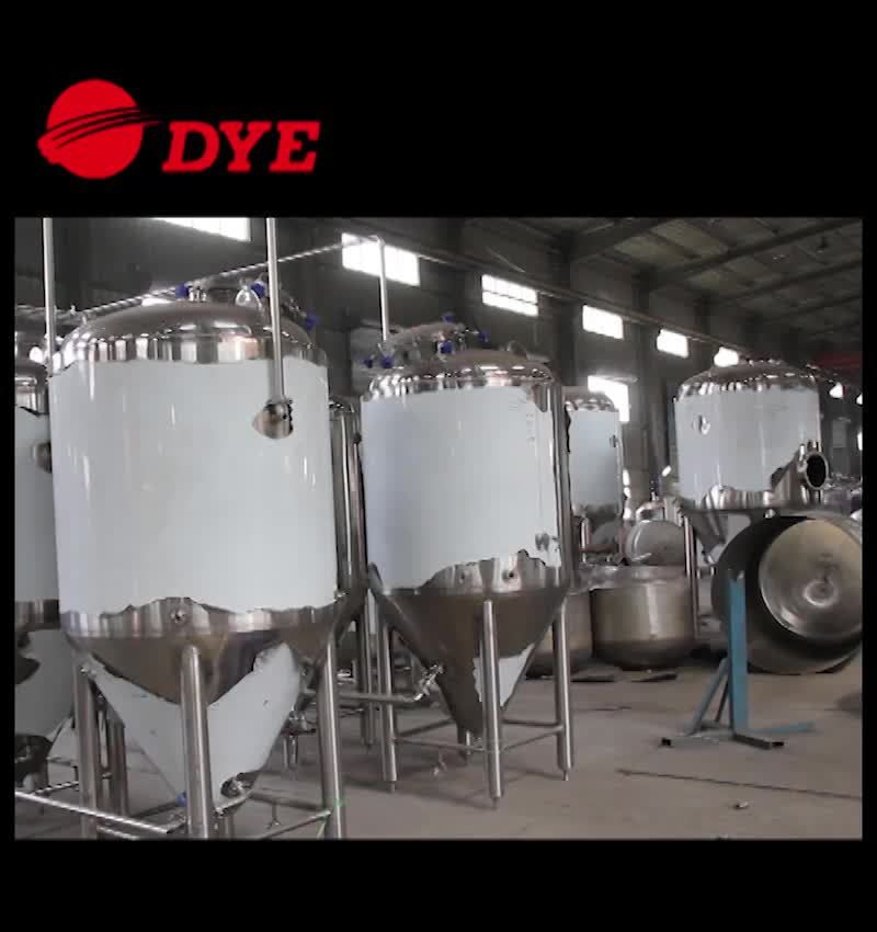 1000L stainless steel conical fermenters for sale,beer fermentation tank