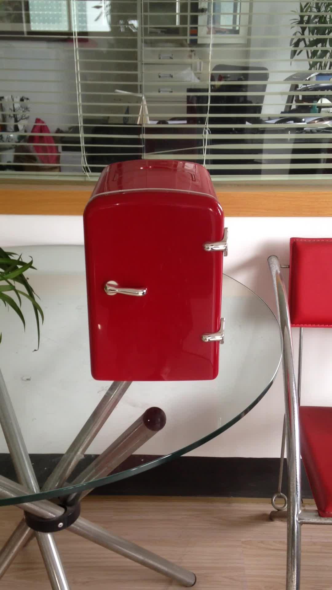 4L Nội Các Khách Sạn Nhiệt Mini Tủ Lạnh Mà Không Cần Máy Nén Đẹp Đầy Màu Sắc ETC4
