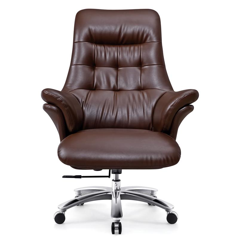 木野真皮商务办公简约舒适老板椅真实使用心得,不看后悔
