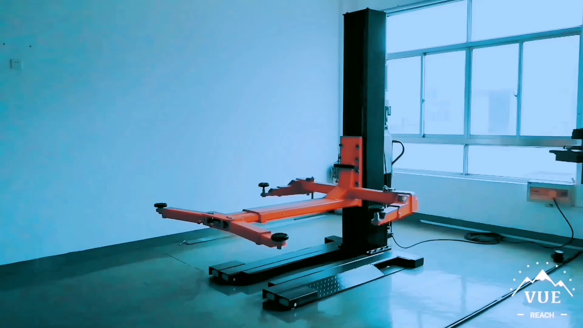 Cheap Prices Single Column Auto Lifts One Post Car Lift For Sale