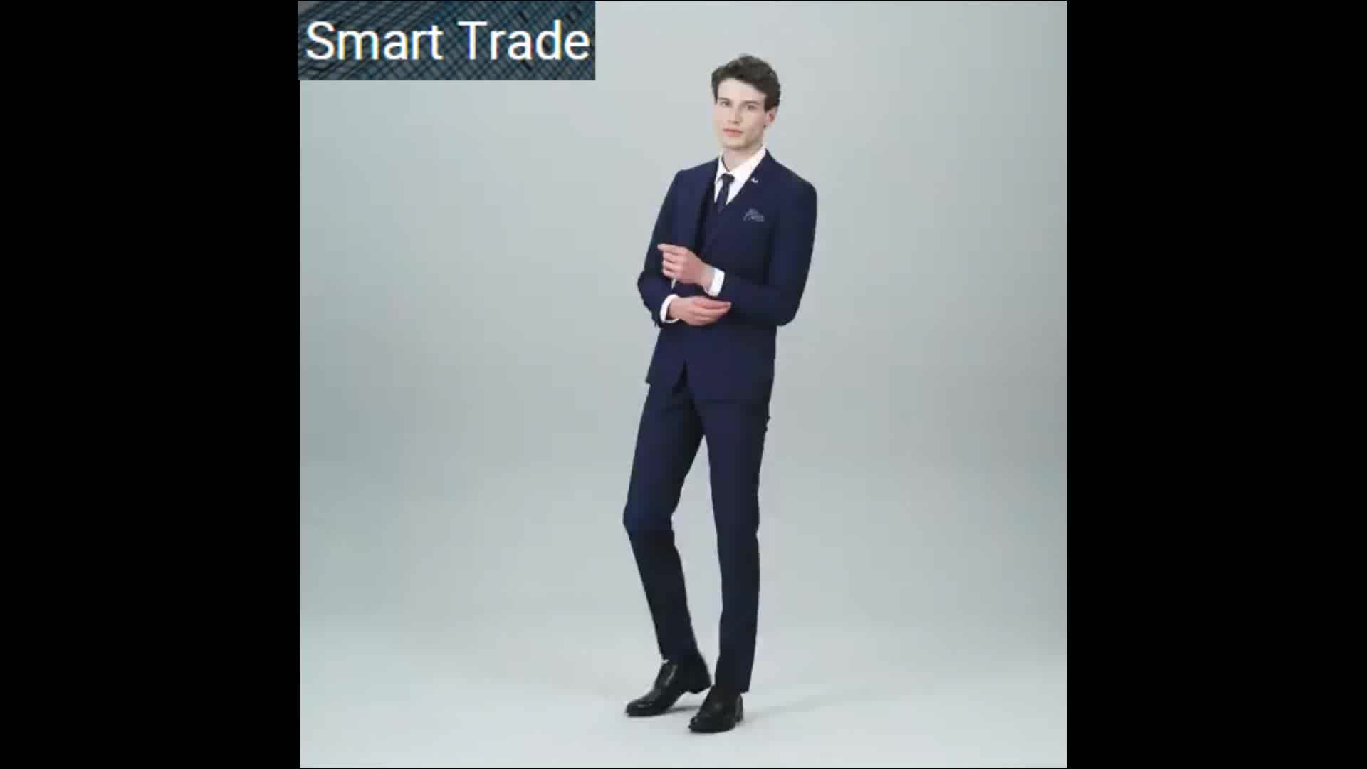 2017 New Fashion Tailored Italian Men\'s 3 Piece Suits Wedding Suit ...