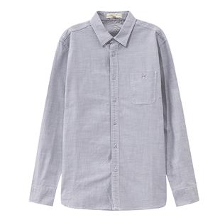 美特斯邦威长袖2019新款秋季衬衫