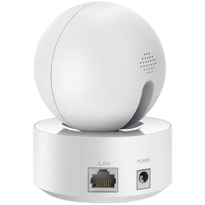【400万高清】360度全景无线监控摄像头高清夜视监控mini家用连手机网络WiFi智能远程室内家庭水星安防监控器