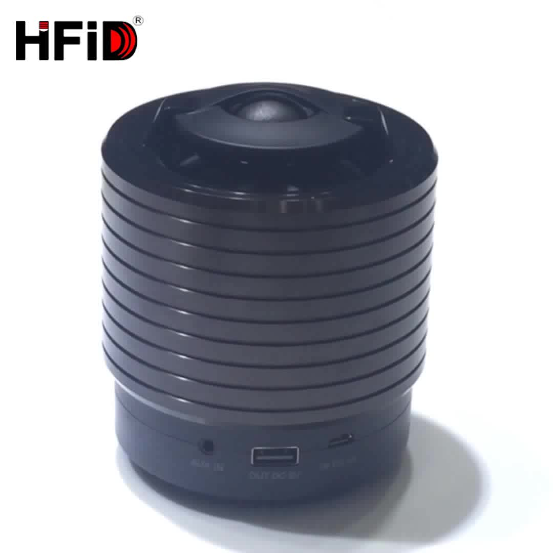 Hi-FiD New Consumer Electronics Speaker with Ture Wireless Stereo for Smart Phone