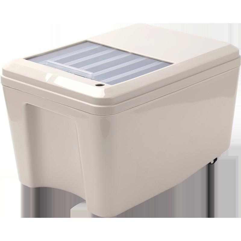 茶桶茶渣桶推拉式客厅家用小号茶水桶茶具配件茶叶过滤排水垃圾桶