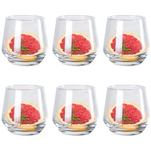 玻璃杯女家用客廳啤酒杯大肚簡約耐熱水杯創意個性果汁奶茶杯子