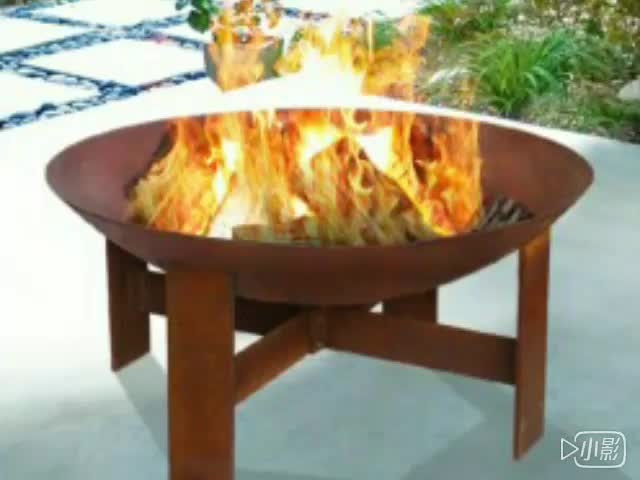 Corten fire pit Outdoor Gas Fire Pit Table with Chimney - Corten Fire Pit Outdoor Gas Fire Pit Table With Chimney - Buy High