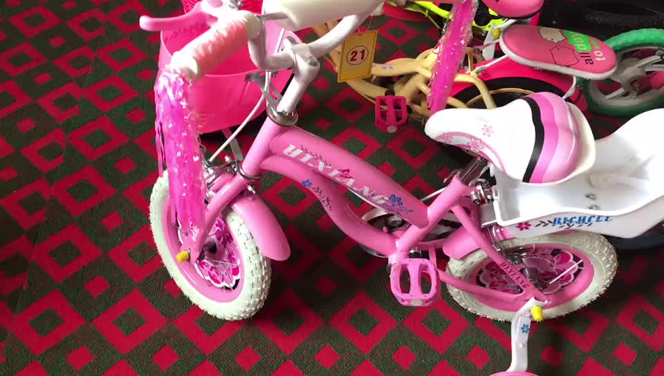 High quality cheap 4 wheel kids pedal bike/child bicycle for 3-5 years old child/ 3-wheel bicycle for child