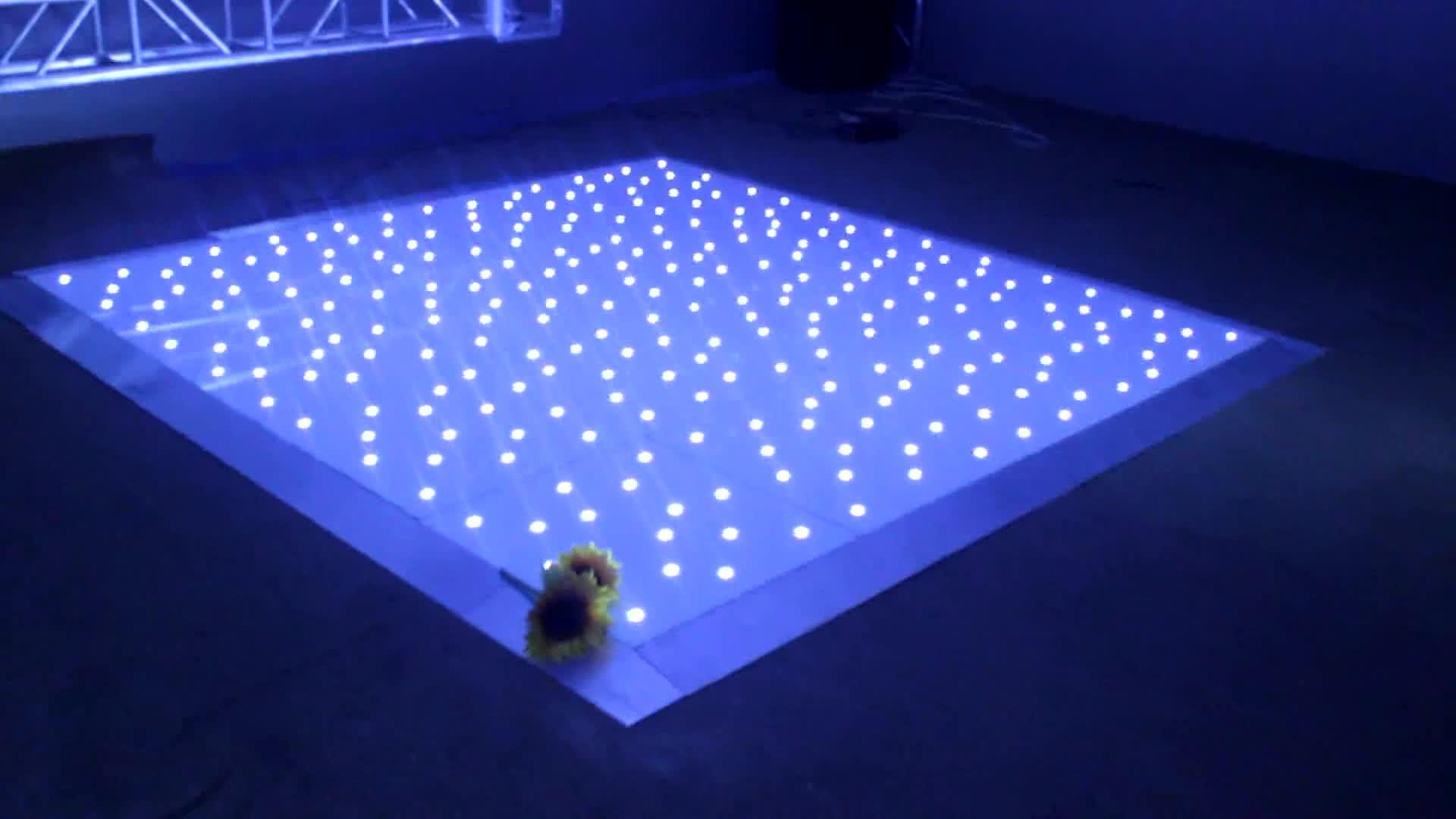 Новый продукт LED Starlit танцпол Свадебная вечеринка дискотека клуб