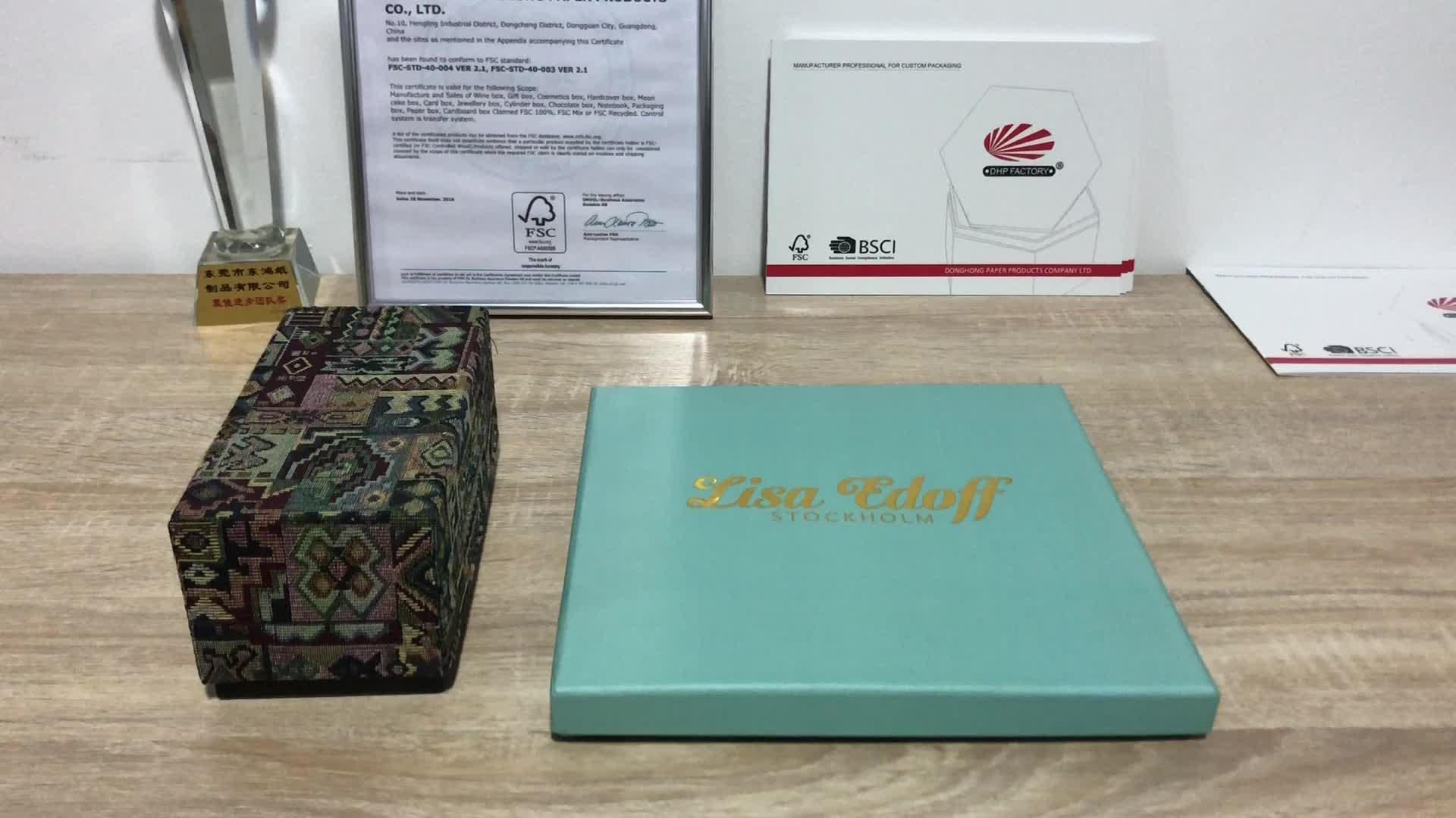 Toptan Geri Dönüşümlü Kağıt Mum Hediye Kutuları Özel Lüks Sert Karton Mum Kutusu Ambalaj