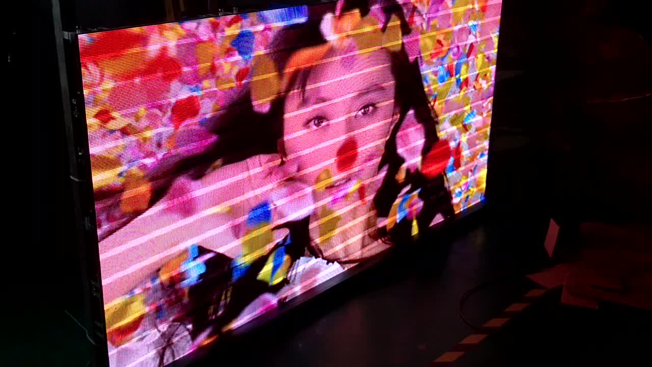 Çin P4 512*512mm Kapalı Video HD Tam Renkli LED Ekran Paneli LED Duvar/LED Ekran