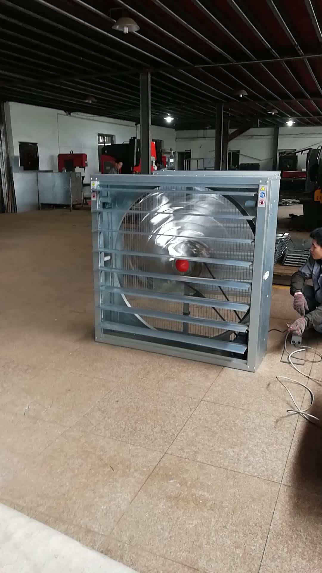 54 Inch Heavy Hammer Exhaust Fan Galvanized Sheet Wall