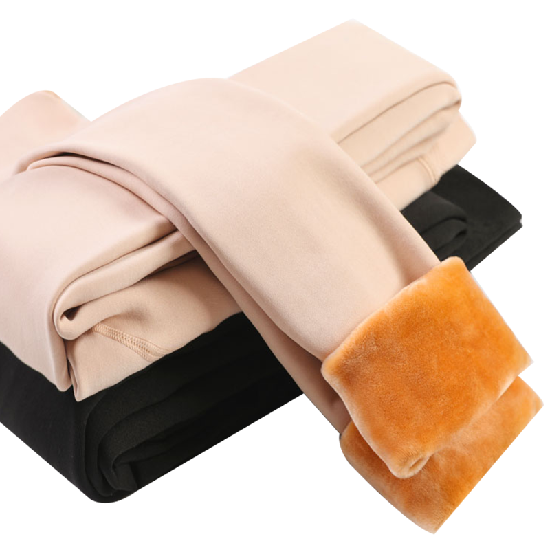 打底裤袜女秋冬季肉色大码裸感外穿保暖内穿加厚加绒秋裤光腿神器