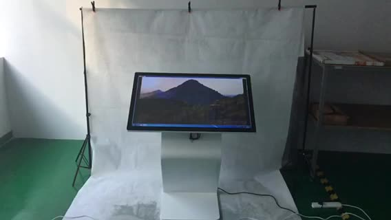 Stock product lcd monitor 43inch led monitor touch screen