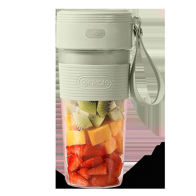 ankale便携式榨汁机家用水果小型充电学生榨汁杯电动迷你打果汁机