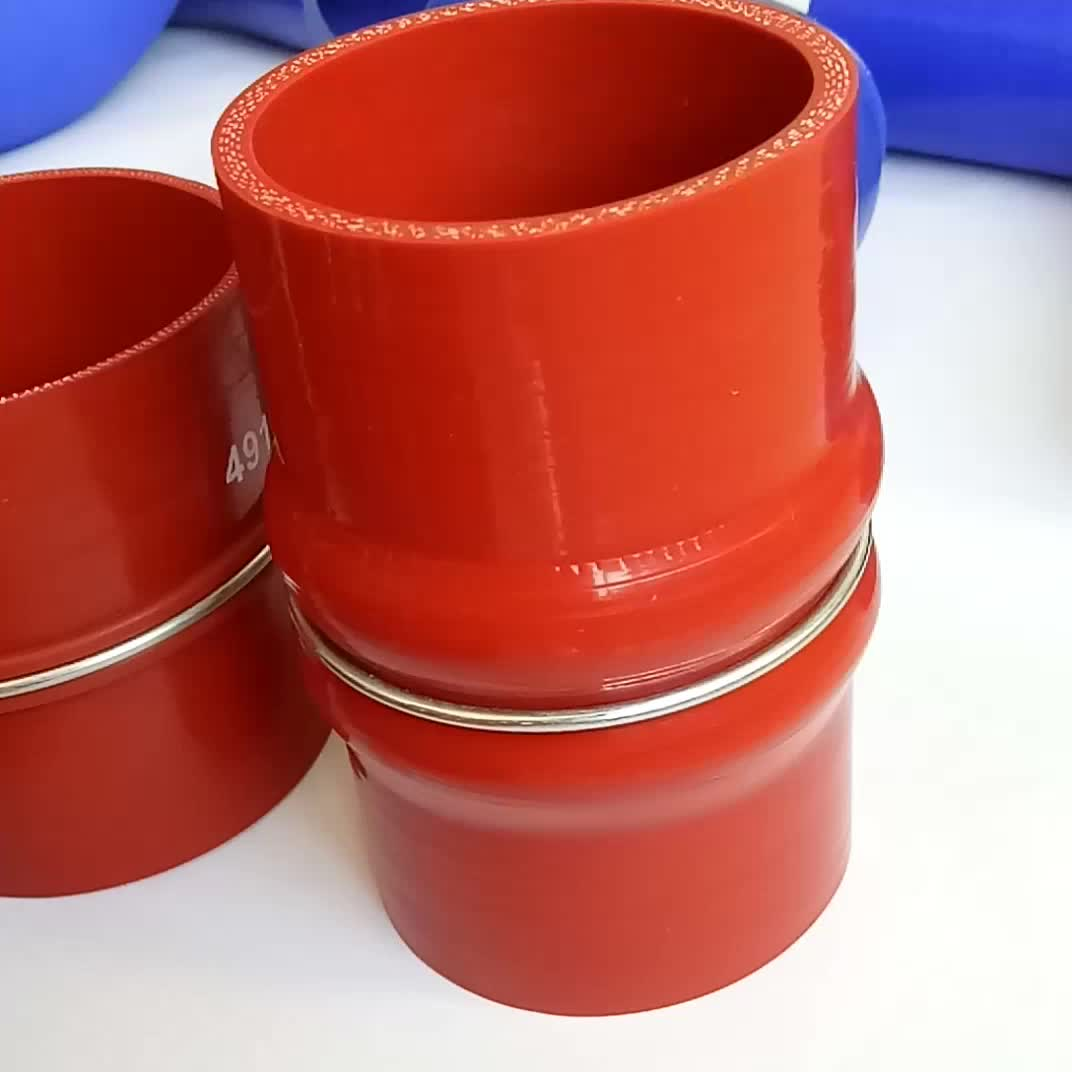 Silicone hose for volvo truck parts