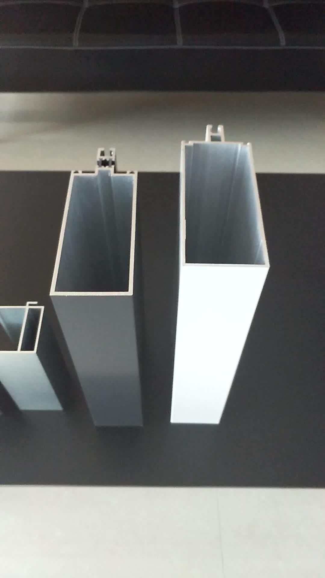 Perfil de aluminio para muros cortina buy perfil de for Colores de perfiles de aluminio