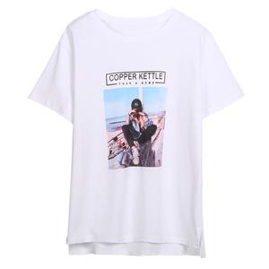 纯棉宽松女短袖2021夏装新款t恤