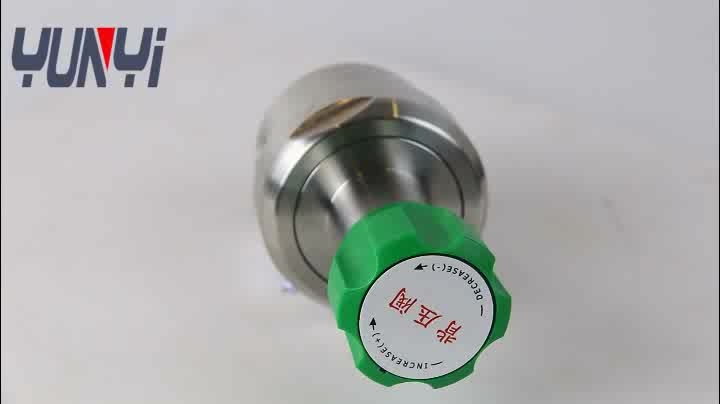 YR32  high flow counterbalance back pressure valve for gas and liquid field