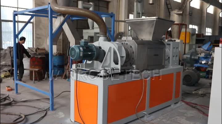 Recycle PP PE Film Knijpen Drogen Granuleren Machine Plastic Pelletizer