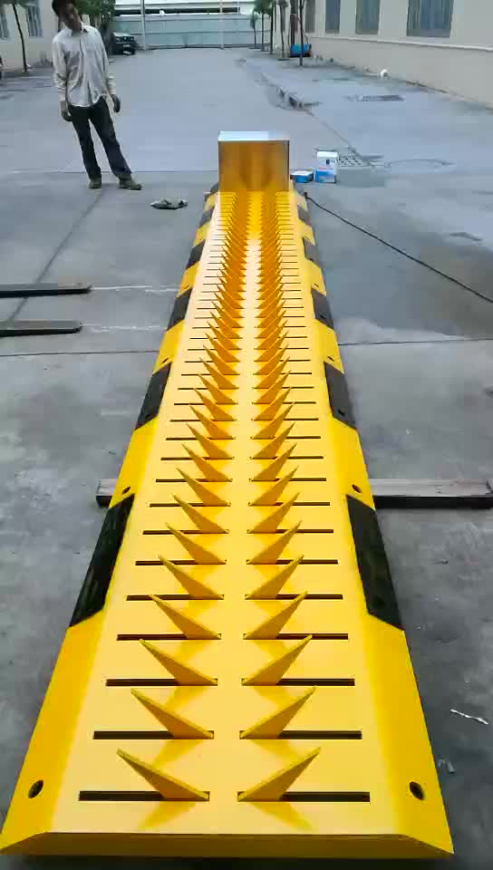 Road safety control two way direction Tyre Killers