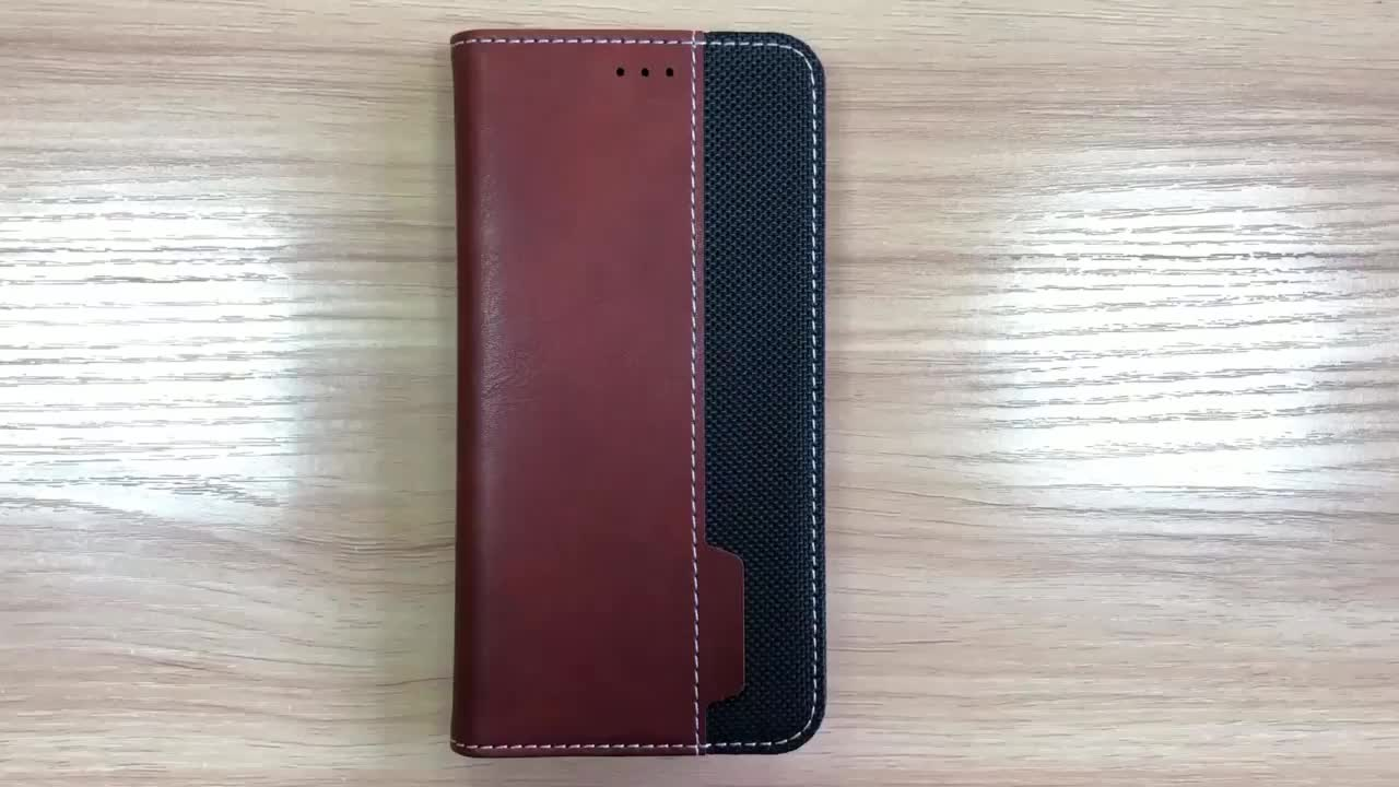 Custom Flip Holster For iPhone X, Leather Mobile Phone Folio Case For iPhone X New Arrivals 2018