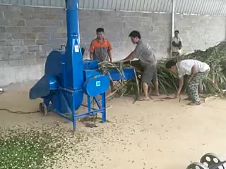 9ZP-3 Animal feed making silage machine chaff cutter crop rotary hay cutting