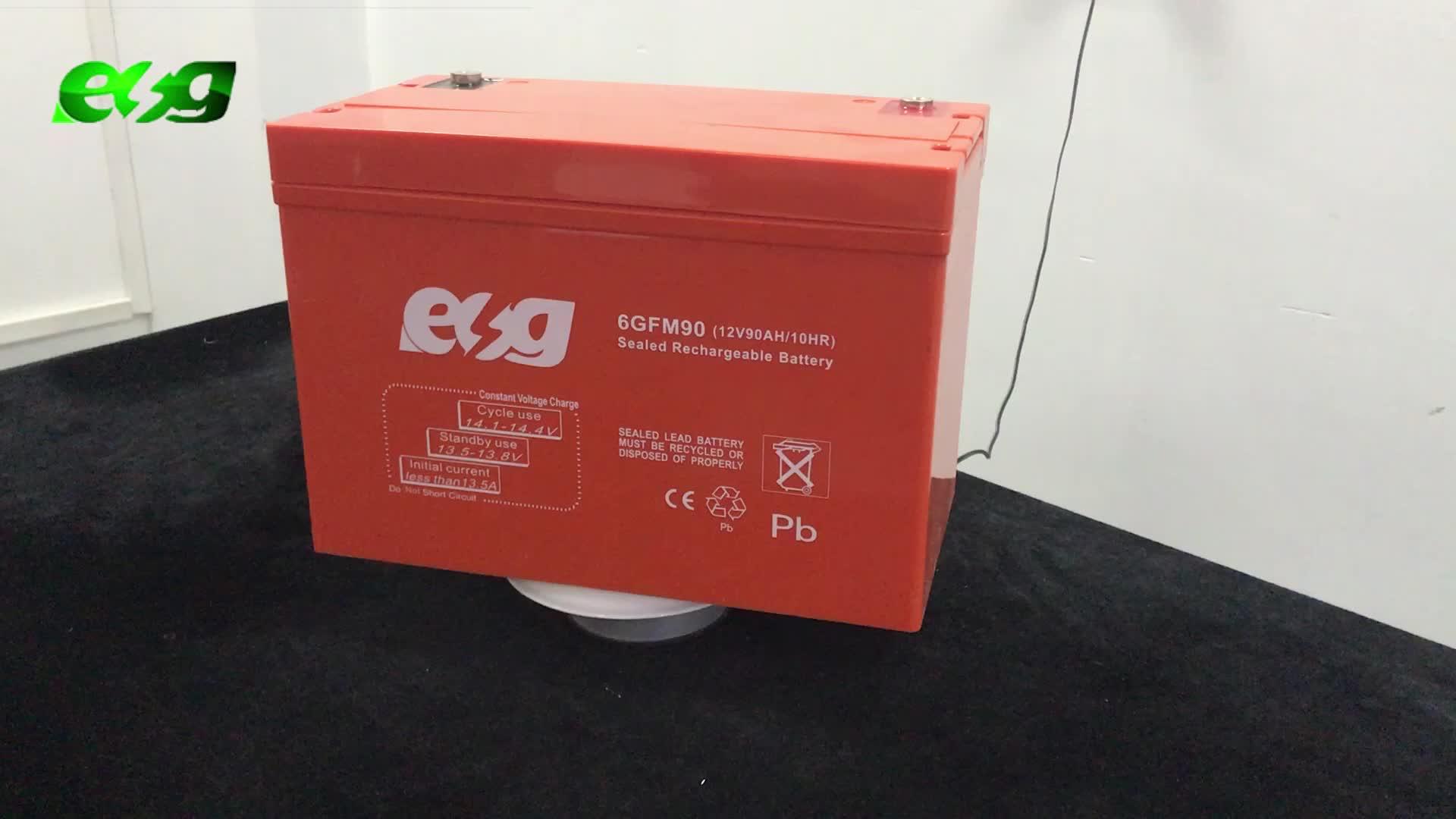 Batterie solaire 12V 100Ah batterie à cycle profond