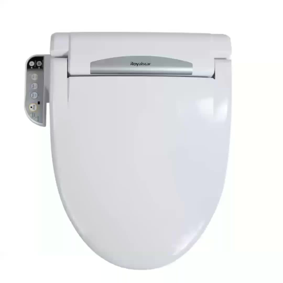 Outstanding Electric Heated Smart Automatic Bidet Toilet Seat Cover Digital Bidet Warm Washable Bidet Toilet Lid Buy Elongated Toilet Seat Lid Covers Plastic Dailytribune Chair Design For Home Dailytribuneorg