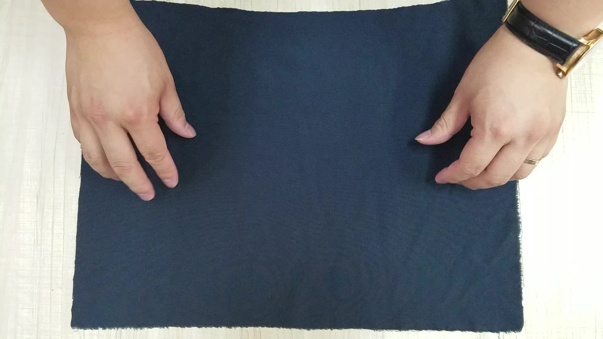 110-130gsm di Alta qualità tessuto di poliestere spandex quattro 4 way stretch tessuto per i pantaloni giacca quick dry