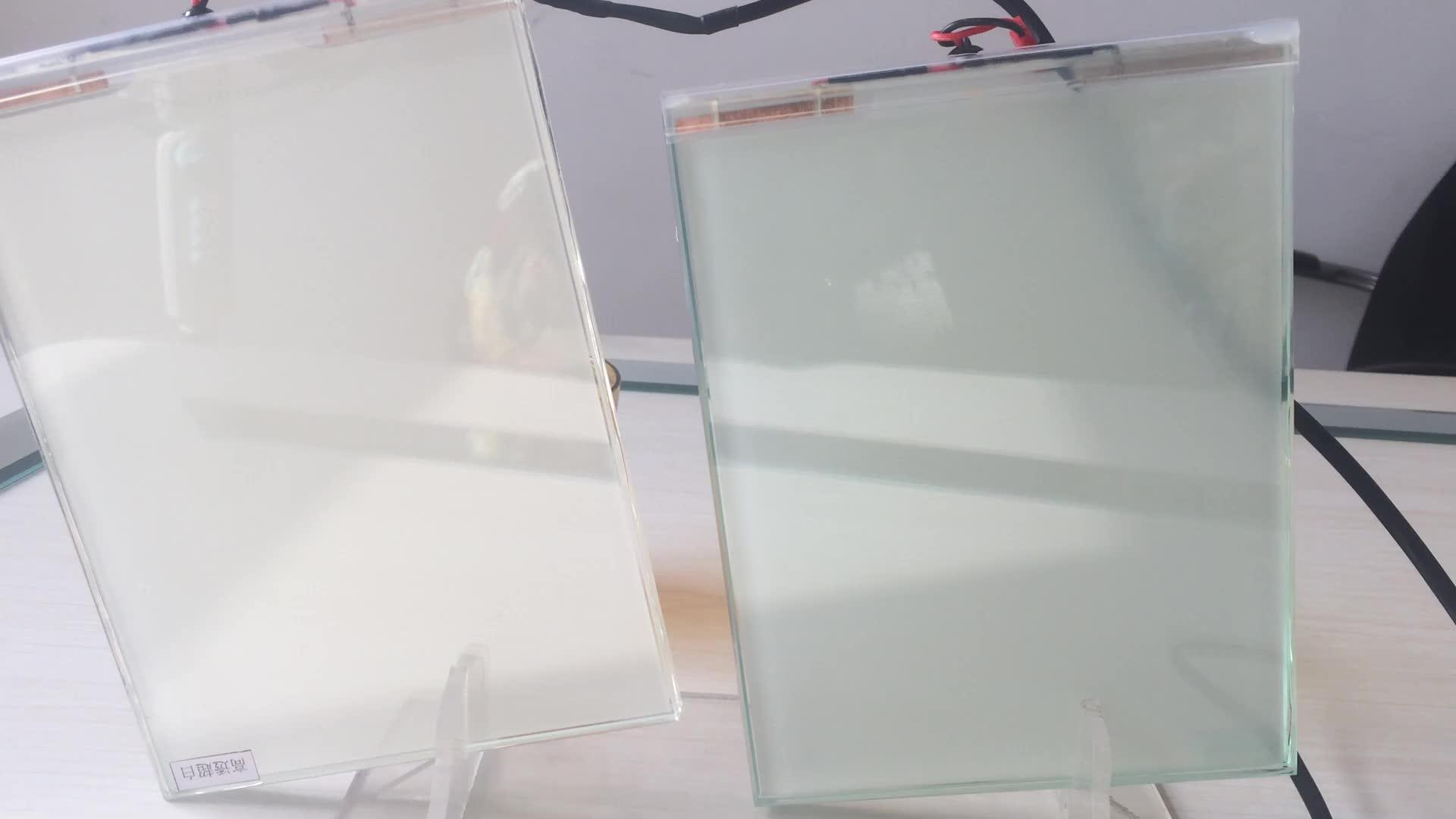 عالية الشفافية Innoglass أسود/رمادي داكن/رمادي فاتح 48 فولت ذاتية اللصق PDLC فيلم رائع وخفيف للباب ، نافذة ، بناء ، سيارة