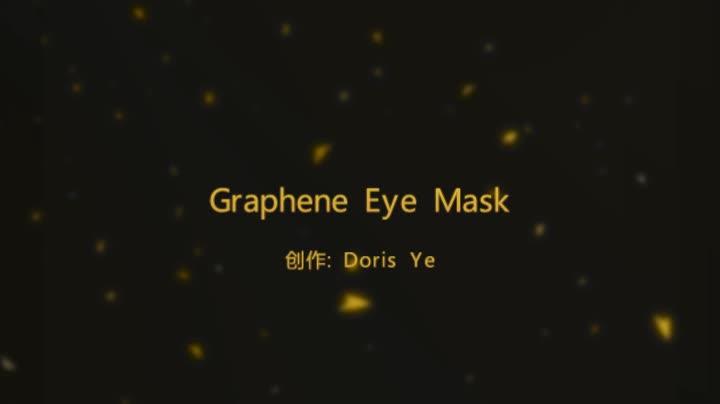 Graphène Infrarouge Lointain chaleur dormir masque Pour Les Yeux pour soulager la fatigue oculaire et nourrir la peau
