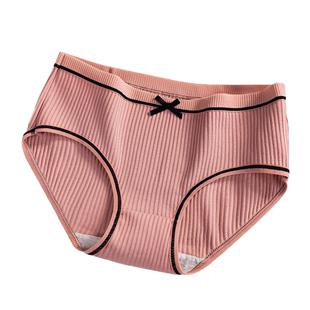 纯棉抗菌少女日系中腰学生夏季内裤