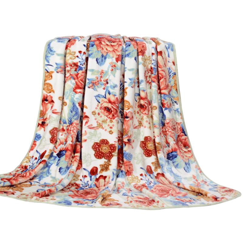 床单富安娜春秋珊瑚绒法兰绒毛毯价格多少好不好用