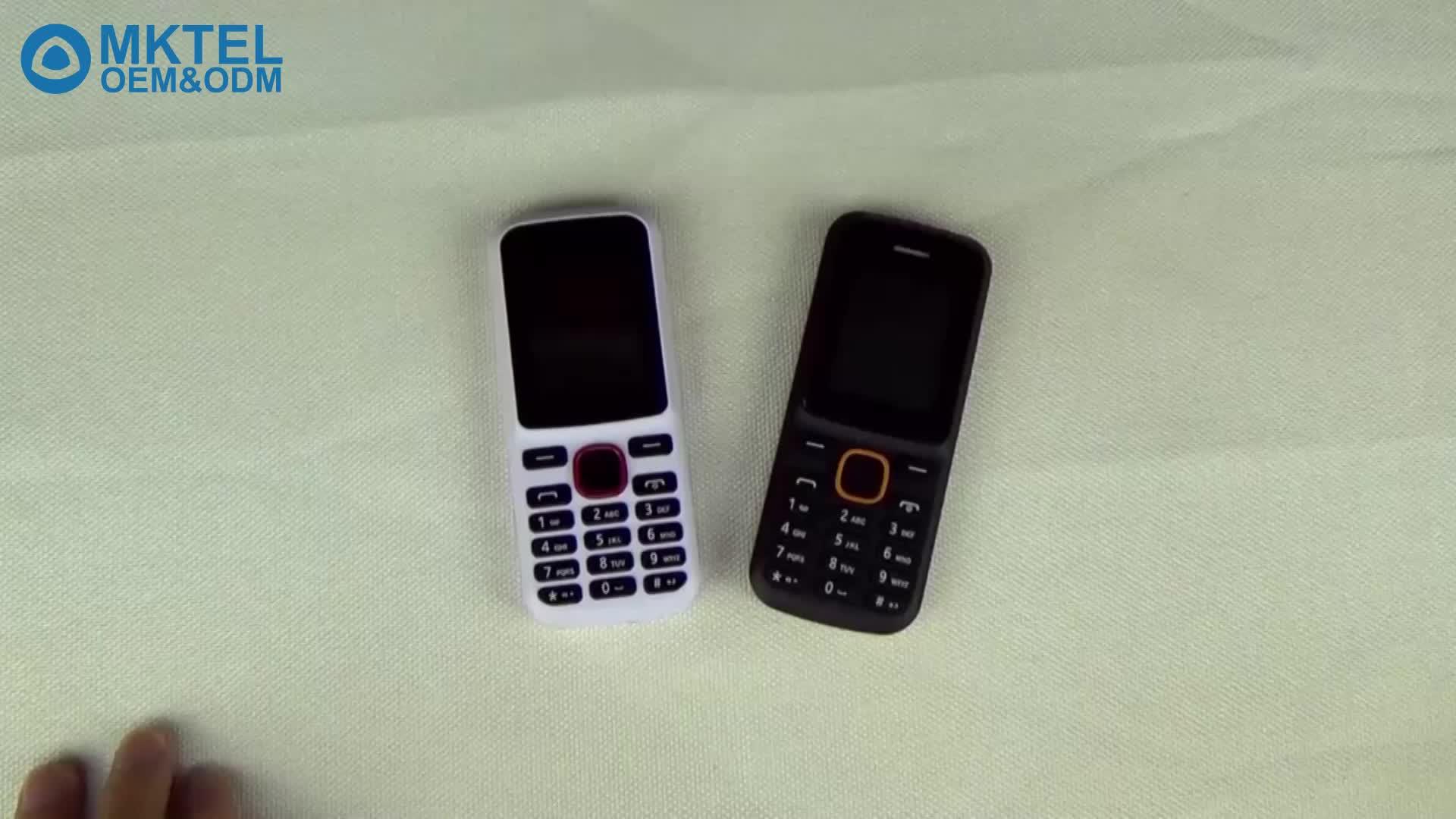 OEM के सस्ते फोन Celulares 1.77 इंच Spreadtrum6531 32 + 32 MB G19